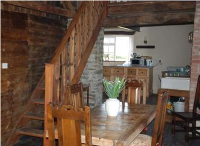 Dining Area at Granary Cottage